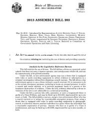 2013 ASSEMBLY BILL 203 - Wisconsin Legislative Documents