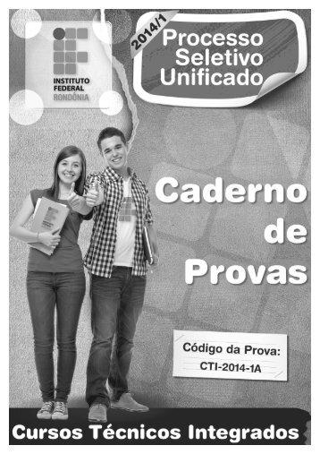 302315141021CADERNO DE QUESTÕES - PSU 2014-1 - Cursos Técnicos Integrados