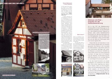 S. 6 - 17: Wohnen & Leben - Stadt Schwabach