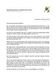 Rundschreiben 24. Febr. 2012 - Web & Grafikdesign Gruber