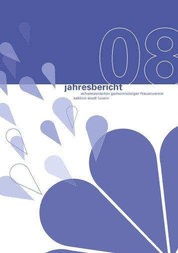 Jahresbericht 2008 in PDF-Format - Schweizerischer ...