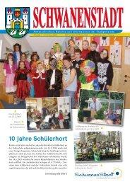 10 Jahre Schülerhort - Schwanenstadt