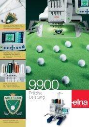 Elna 9900 - Stickmaschine von HOKO, Happy Stickmaschinen