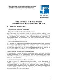 Jahresbericht, 2. Halbjahr 2008 - 4Ing