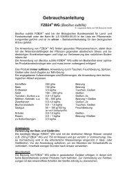 Gebrauchsanleitung FZB24 - BIOFA