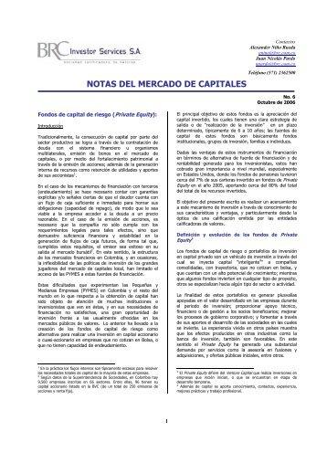 Fondo de Capital de Riesgo 2006-10-17