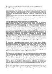 Antwort der Verwaltung - CDU Ratsfraktion