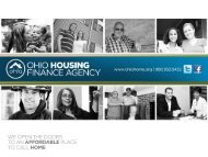 (HIF) Webinar – September 6, 2012 - Ohio Housing Finance Agency