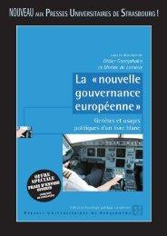 La nouvelle gouvernance européenne