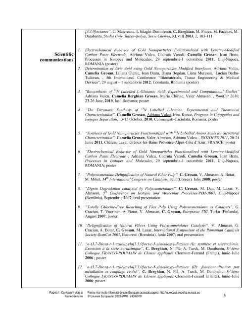 CV Cami G.pdf - ITIM
