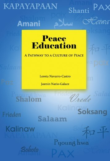 Peace Education - Conflict Resolution Education Connection