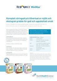Resource MiniMax - Nestlé Nutrition