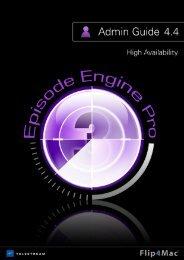 Episode Engine High Availability Option - Flip4Mac