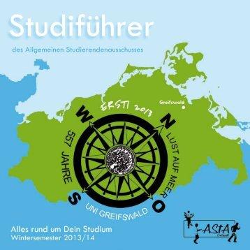 des Allgemeinen Studierendenausschusses - AStA Greifswald