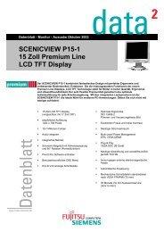 SCENICVIEW P15-1 15 Zoll Premium Line LCD TFT Display