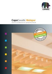 Capacoustic Melapor - IFFLAND AG