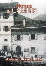 NOTIZIE IN COMUNE - dicembre 2012 - Comune di Ragoli