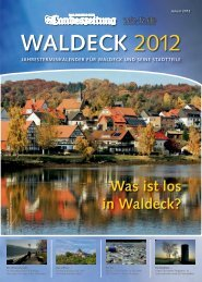 Was ist los in Waldeck?