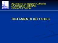trattamento fanghi - Dipartimento di Ingegneria Idraulica ed ...