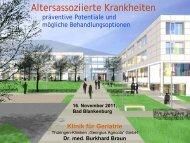 Altersassoziierte Krankheiten - Landesseniorenvertretung Thüringen