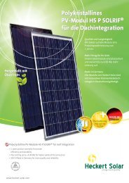 HS P Solrif 205/210 - Activity Solar