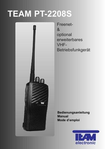 TEAM PT-2208S - Team Electronic