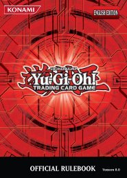 OFFICIAL RULEBOOK Version 8.0 - Yu-Gi-Oh!
