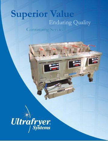 end of 2010_sales_catalog_12x18.indd - Ultrafryer Systems