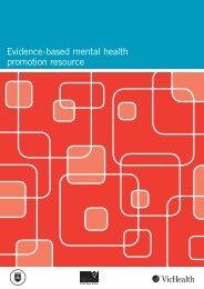 Evidence-based mental health promotion resource - health.vic.gov.au