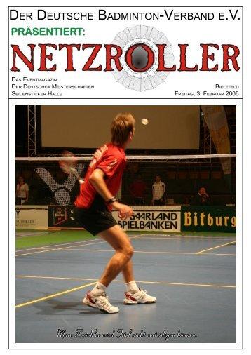 Das ist bitter - Deutsche Badminton Meisterschaft