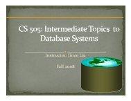 Jinze Liu Fall 2008 - Network Protocols Lab - University of Kentucky