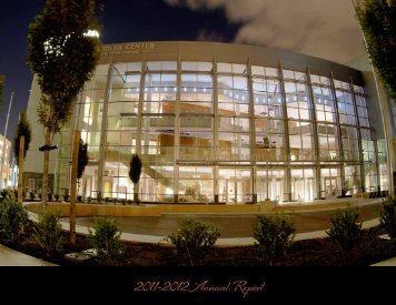 2011-2012 Annual Report - Sandler Center for the Performing Arts