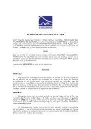 Denuncia presentada en el Ayuntamiento de Busturia y ... - Urdaibai