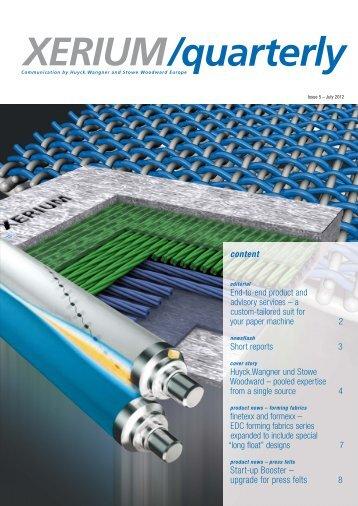 Download PDF - Xerium Technologies, Inc.