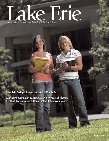 Fall 2006 - Lake Erie College