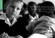 Irish Aid and Development Education - DevelopmentEducation.ie