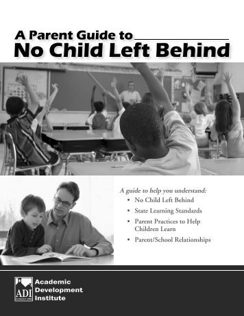 No Child Left Behind - Academic Development Institute
