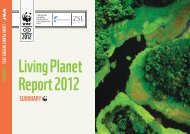 Living Planet Report 2012 - Summary Booklet - WWF