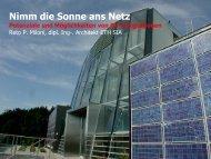 Neue Horizonte im energieeffizienten Bauen Passivhausbauweise bei