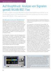 Auf Knopfdruck: Analyse von Signalen gemäß ... - Rohde & Schwarz