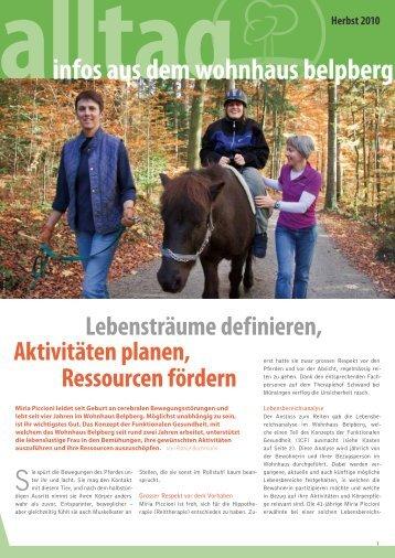 Alltag Herbst 2010 - Wohnhaus Belpberg
