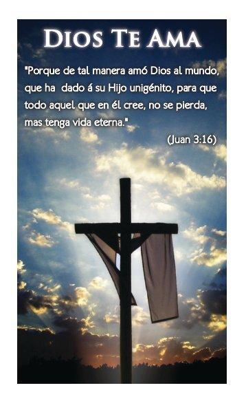 Dios Te Ama - Fellowship Tract League