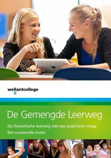 De Gemengde Leerweg - Wellantcollege