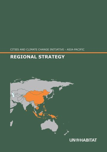Cities and Climate Change Regional Strategy for Asia Pacific