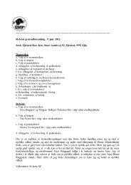 Referat af generalforsamling 2012 - Dansk Münsterländer Klub