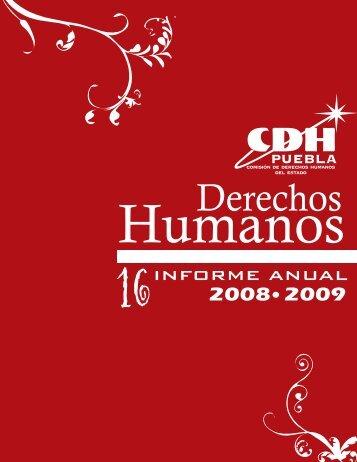 2008 2009 - Comisión de Derechos Humanos del Estado de Puebla