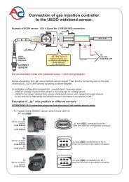 Sonda UEGO connection