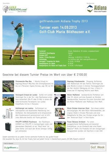 TURNIER PDF - Golfclub Maria Bildhausen