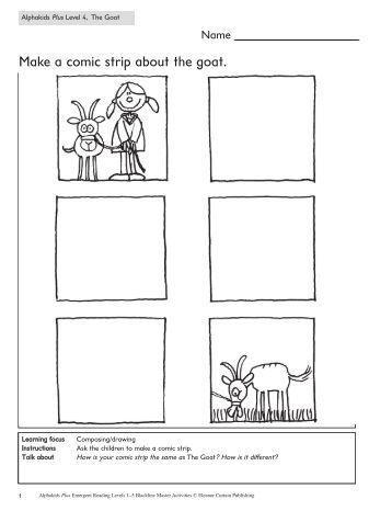 Comic strip assignment