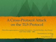 A Cross-Protocol Attack on the TLS Protocol